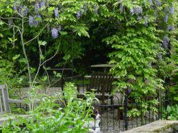 Landelijke tuin voor dijkwoning