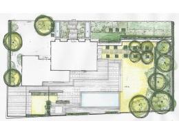 Tuinontwerp Moderne tuin Ibiza stijl