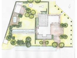 Tuinontwerp monumentale klassieke tuin