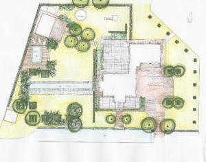 Monumentale klassieke tuin