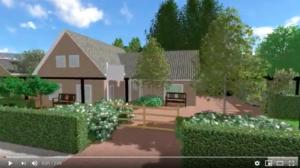 Wandel door uw 3D tuinontwerp