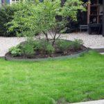 Landelijke tuin dijkwoning
