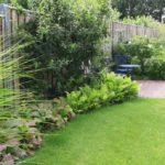 Natuurlijke tuin woonboerderij