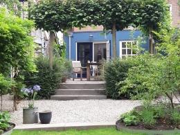 Tuin landelijk dijkwoning