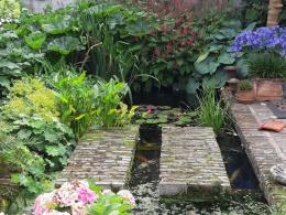 Tuinontwerp Binnentuin met water
